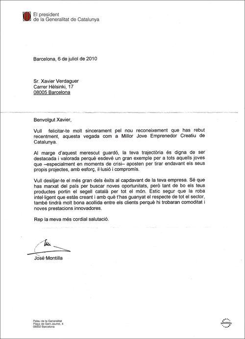 Carta-presidentmontilla-xavierverdaguer