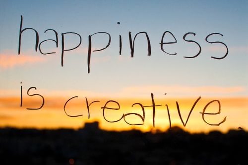 Happiness-is-creative