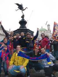 Wembley-supporters