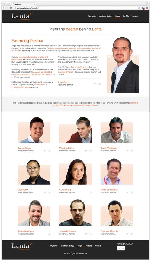 Lanta-website